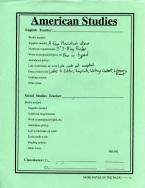 American Studies: Basic Information